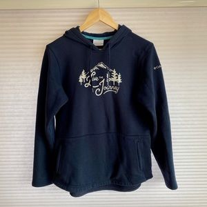 Columbia 'Live the Journey' Blue Hoodie